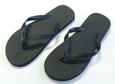 plain mens ladies flip flops 10 pairs spa wedding beach. Black Bedroom Furniture Sets. Home Design Ideas