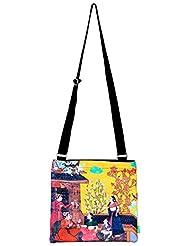 Eco Corner Women's Sling Bag (Multi-Coloured) (2932)