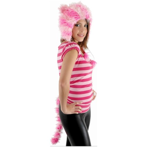 Catarina Cheshire Cat Hat & Tail Costume Accessory
