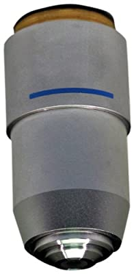 National Optical 740-155 DIN 40xR Objective Lens, 0.65 N.A., For 155 and 210 Compound Microscopes from National Optical & Scientific Instruments Inc
