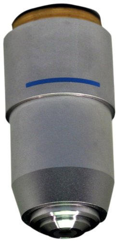 National Optical 740-155 Din 40Xr Objective Lens, 0.65 N.A., For 155 And 210 Compound Microscopes