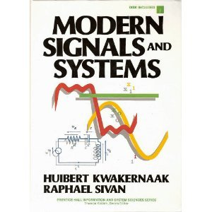 Modern Signals And Systems/Book And Disk (Prentice Hall Information And System Sciences Series)