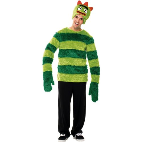 Yo Gabba Gabba Brobee Costume Men Size 42-44 Adult Halloween 2011