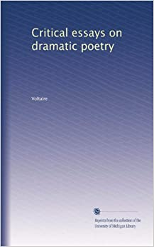 dramatic poesy other critical essays