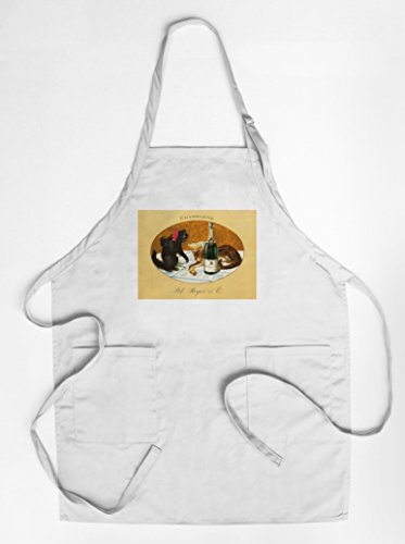 champagne-pol-roger-vintage-poster-c-1921-quality-cotton-polyester-chefs-apron
