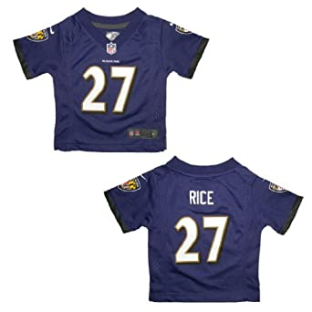 NFL Baltimore Ravens Rice #27 Infant Athletic Short Sleeve Jersey by NFL