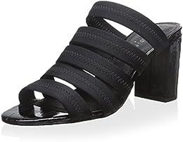 Donald J Pliner Women s Strappy Chunk Heel Slide
