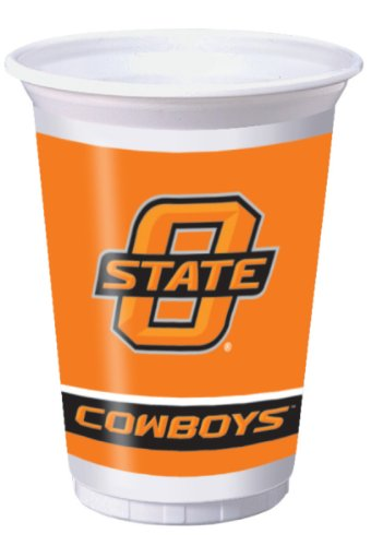Creative Converting Oklahoma State Cowboys Printed Plastic 20 oz. Cups (8 Count)