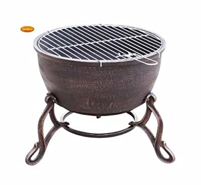 Gardeco Elidir Cast Iron Fire Bowl by Gardeco