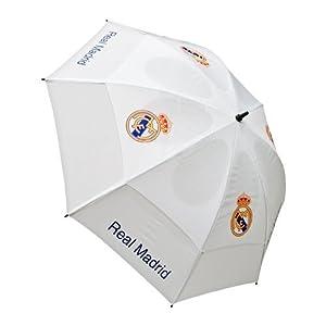 Real Madrid Parapluie de golf Blanc: Bagages