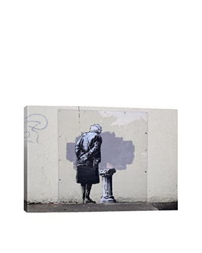 Banksy Art Buff Gallery Wrapped Canvas Print