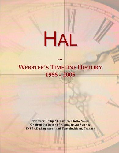 Hal: Webster's Timeline History, 1988 - 2005