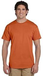 Gildan Men's Seamless Double Needle T-Shirt, Texas Orange