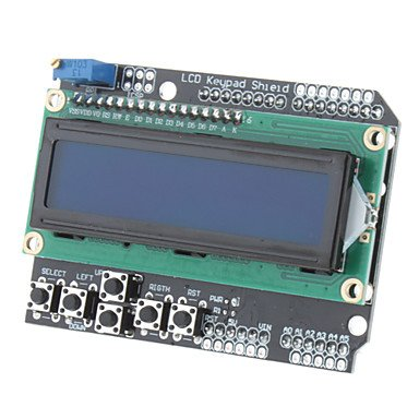 Commoon Lcd Keypad Shield For Arduino Duemilanove & Lcd 1602 (Works With Official Arduino Boards)