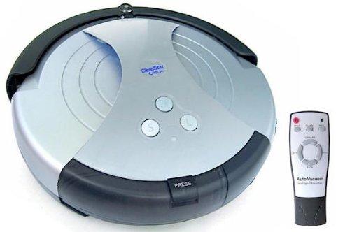 おしゃれで綺麗好き効率スピードアップ リモコン付 お掃除ロボット クリーンスター