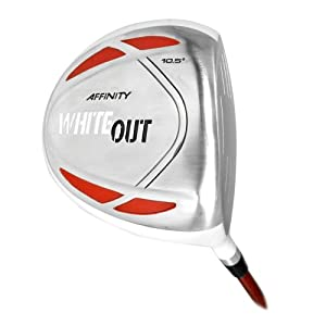 Affinity White Out Driver (10.5-Degrees, Right Hand, Regular Flex)