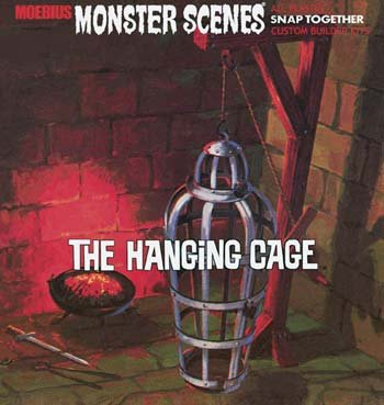 The Hanging Cage Snap Monster Scene (11