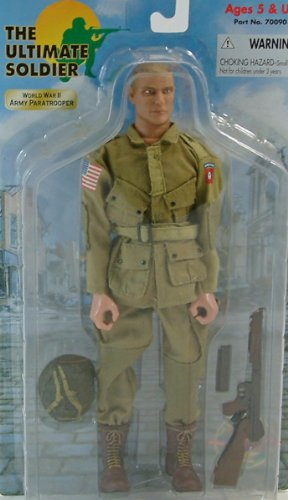 Ultimate Soldier WWII Army Paratrooper Action figure (Army Paratrooper Figure compare prices)
