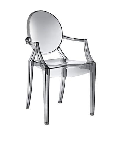 Modway Casper Dining Arm Chair, Smoke