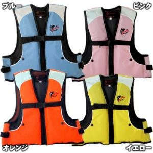 Blue ジュニアフローティング best M size FV-6002 (children's life jackets)