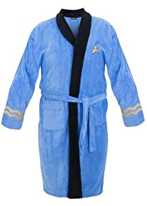 Star Trek Adult Spock Fleece Costume Bath Robe