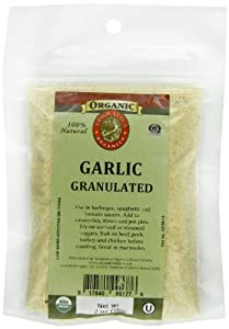 Aromatica Organics Garlic Granulated Premium, 2-Ounce