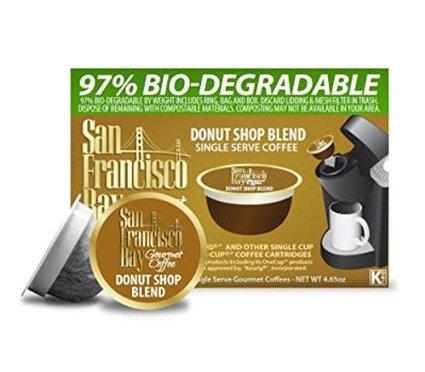 San Francisco Bay Keurig K-Cup Gourmet Coffee - Donut Shop Blend (12 K-Cups) (Keurig Vue Cup Donut Shop compare prices)