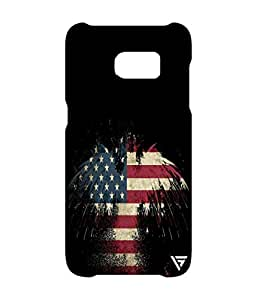 Vogueshell American Eagle Printed Symmetry PRO Series Hard Back Case for Samsung s7 Edge