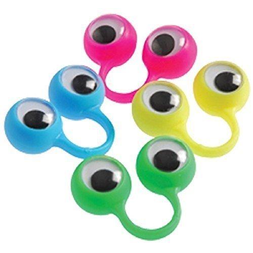 Lanlan Lot of 12pcs Oobi Eye Finger Puppets as a gift to Play