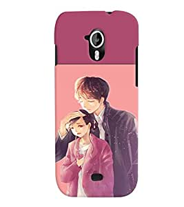 Fuson 3D Printed Designer back case cover for Micromax Canvas HD A116 - D4316