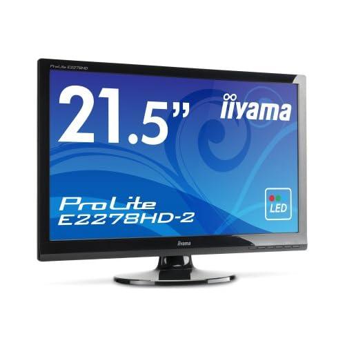 iiyama WLEDバックライト搭載 21.5型ワイド液晶ディスプレイ ProLite E2278HD-2