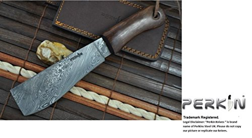 Custom Damascus Hunting Knife - Machete