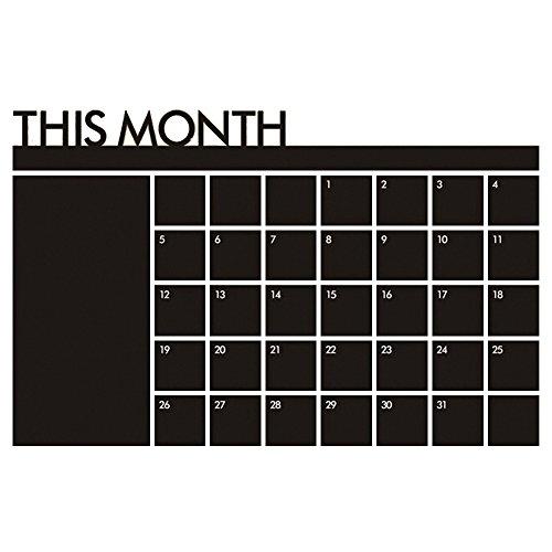Pingxia Mensile Planner Calendario Rimovibile Adesivi Murales Wall Sticker Decalcomanie Casa Decorazione per Bambini