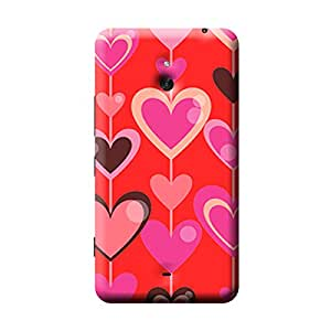 Garmor Heart Shape Design Plastic Back Cover For Nokia Lumia 1320 (Heart Shape - 7)
