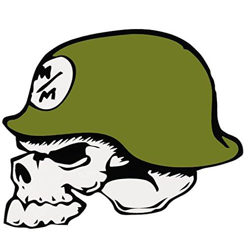 Metal Mulisha Helmet Sticker - 12