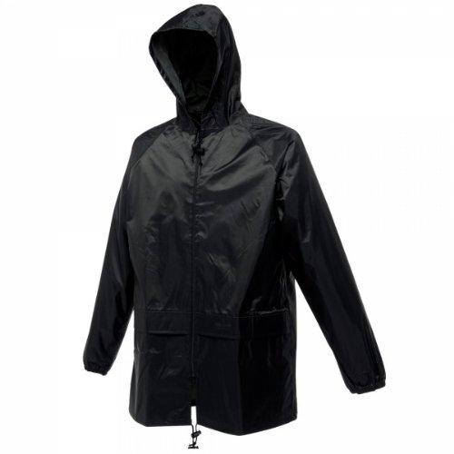 Regatta RG005 Hydrafort Polyester Men's Waterproof Stormbreak Jacket, X-Large, Black