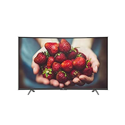 TCL C48P1FS 121.92 cm (48 inches) Full HD Curved Smart LED TV (Black)
