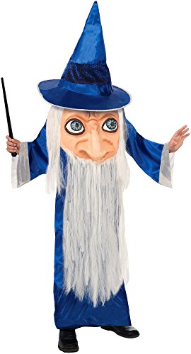 Forum Novelties Big Face Wizard Costume, One Size