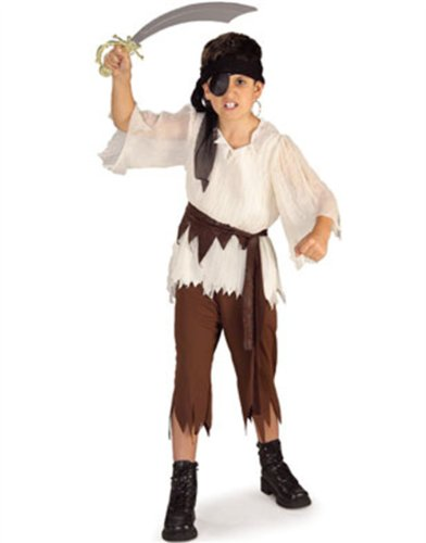 Rubies Pirate Buccaneer Lost Boy Costume