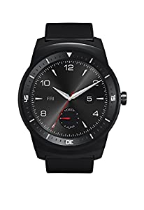LG G Watch R Smartwatch - Black