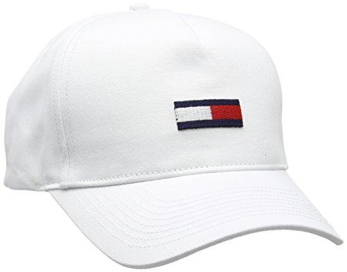 Tommy Hilfiger Denim - Flag Cap 1, Cappello da uomo, classic white  100, OS