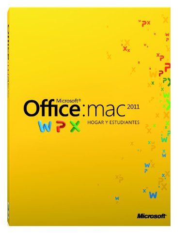 Office Mac Home & Student 2011 1User/1Pc- Spanish
