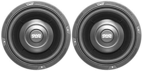 Earthquake Sound Sws-6.5X 6.5-Inch Shallow Woofer System Subwoofers (Pair)