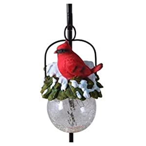 Coleman Cable 96944 Outdoor Solar Light Pendant, Cardinal, Plastic with Glass at Sears.com