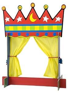 ALEX® Toys - Crown Tabletop Puppet Theatre 24K by Alex