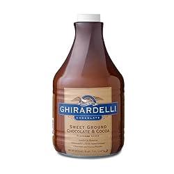 Ghirardelli Chocolate Sweet Ground Chocolate Sauce, 64 fl. oz.