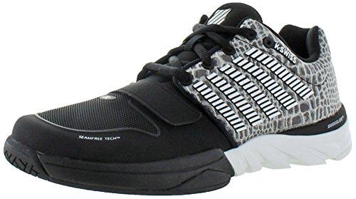 K-Swiss X-Court Men's Tennis Sneakers Shoes Black Size 8.5