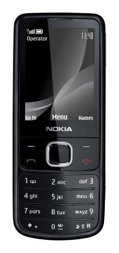 Nokia 6700 classic matt black (UMTS, GPRS, Bluetooth, Kamera mit 5 MP, Musik-Player) UMTS Handy