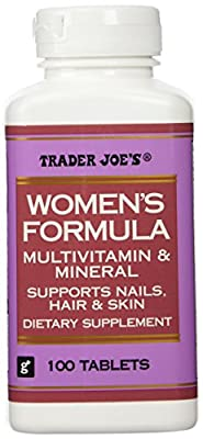 Trader Joe's Women's Formula Multivitamin & Mineral, 100tablets