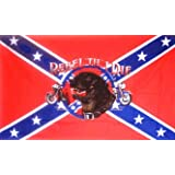 CONFEDERATE FLAG REBEL TIL I DIE ~ Sportsworld
